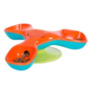 Outward Hound Kyjen  41015 Triple Treater Totter Dog Toys, Large, Red