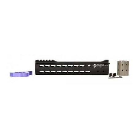 Image of ALG Defense 10in Ergonomic Modular Railed Handguard - V2 KeyMod, Black, 10in 05-
