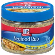 Mccormick Herb Lemon Seafood Dry Rub Sea