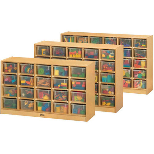 Jonti-Craft ThriftyKYDZ  Mobile 20 Compartment Cubby
