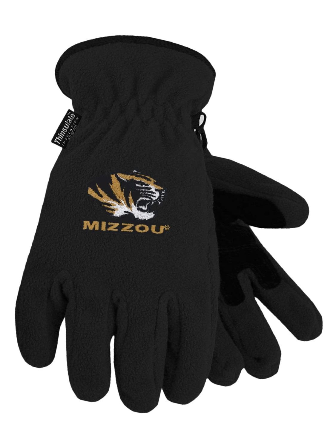 University of Missouri Heavy-Weight Fleece Gloves by