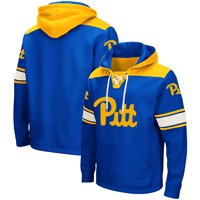 Pitt Panthers Colosseum 2.0 Lace-Up Pullover Hoodie - Royal