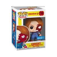 Funko POP Movies: Horror S7 - Chucky Half Face (BD) - Walmart Exclusive