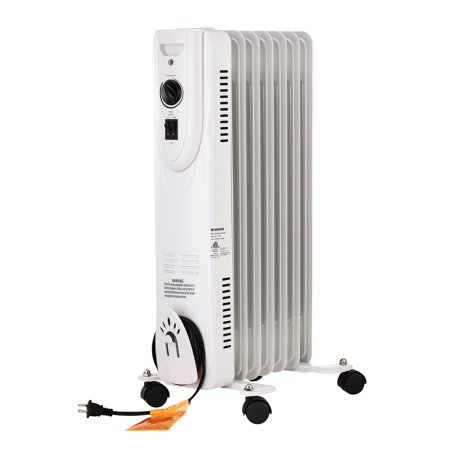 Timer Control Assembly - Ainfox Oil Filled Radiator Heaer with Remote Control 1500W 12hr Timer TIP-OVER Overheat protection WHITE