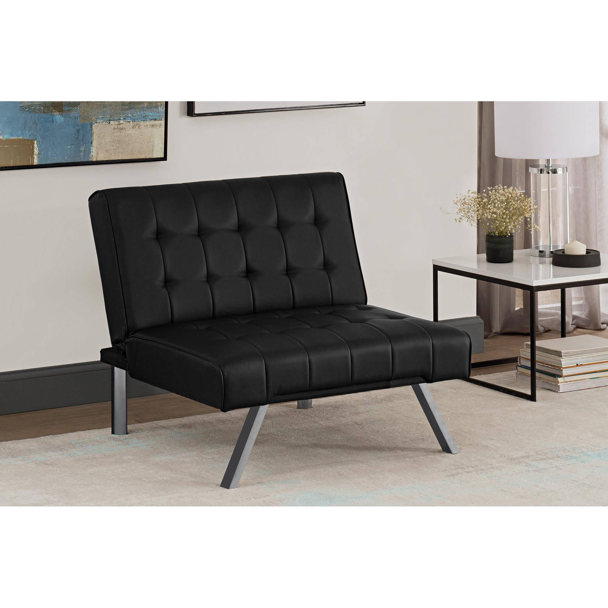 DHP Emily Tufted Accent Chair, Multiple Colors Available