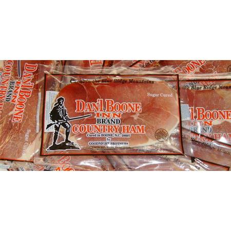 Dan'l Boone Inn Brand Country Ham 12 oz, (3 Pack Gift Box) Country Style Pork Ribs