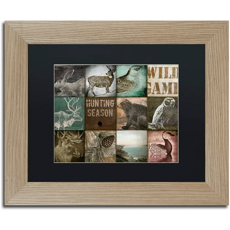 Trademark Fine Art  Cabelas  Canvas Art by Color Bakery Black Matte, Birch Frame Ready to hangFramed presentationAvailable in various sizes