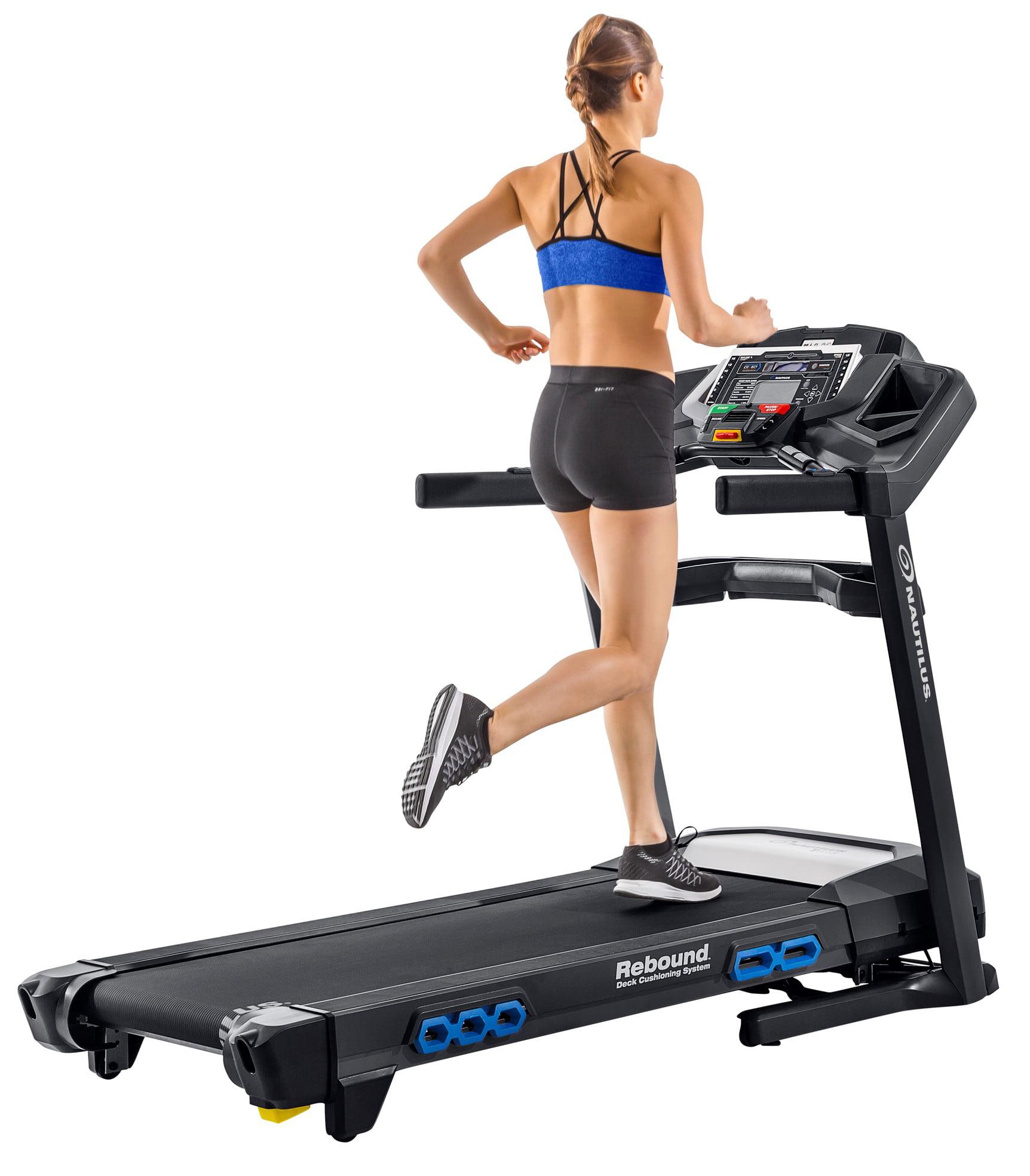 Nautilus T618 Bluetooth Treadmill with RunSocial & Nautilus Trainer 2 App Connectivity by Nautilus