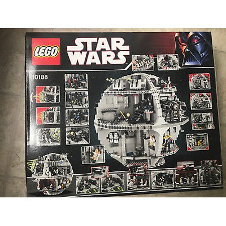 star wars death star lego star wars set 10188. Black Bedroom Furniture Sets. Home Design Ideas