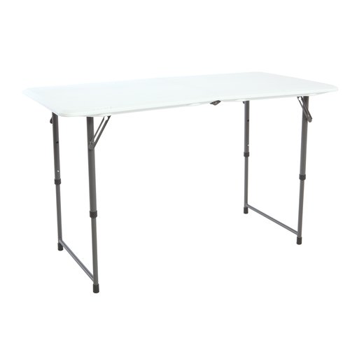 Lifetime Products 4u0027 Fold In Half Table