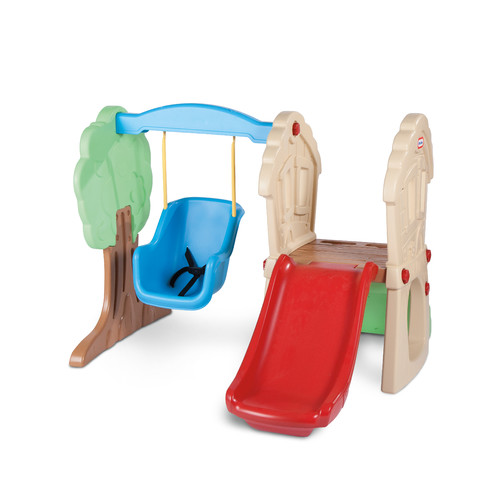 Little Tikes Hide & Seek Climber Swing Set