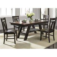 Liberty Furniture Lawson Pedestal Dining Table in Espresso