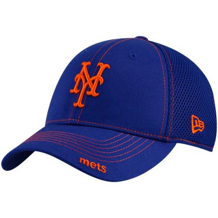New Era New York Mets Royal Blue Neo 39THIRTY Stretch Fit (New York Mets Hats)