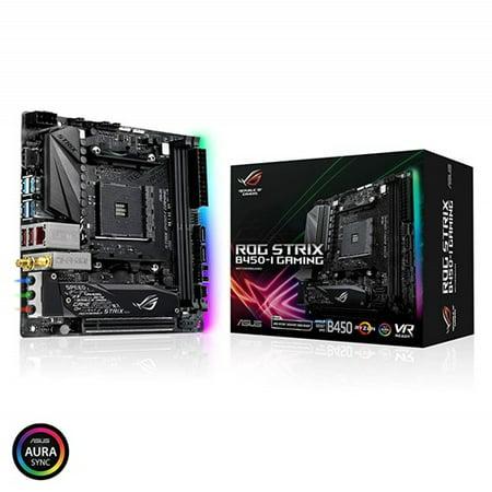 Asus Strix B450-I GAMING Desktop Motherboard