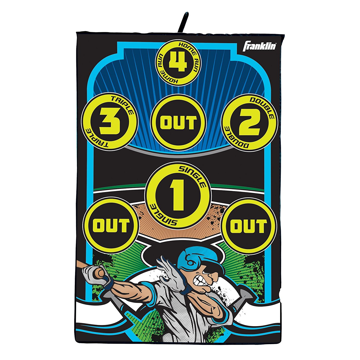 Baseball Target Indoor Pitch Set, 36-inches X 24-inches By Franklin Sports by