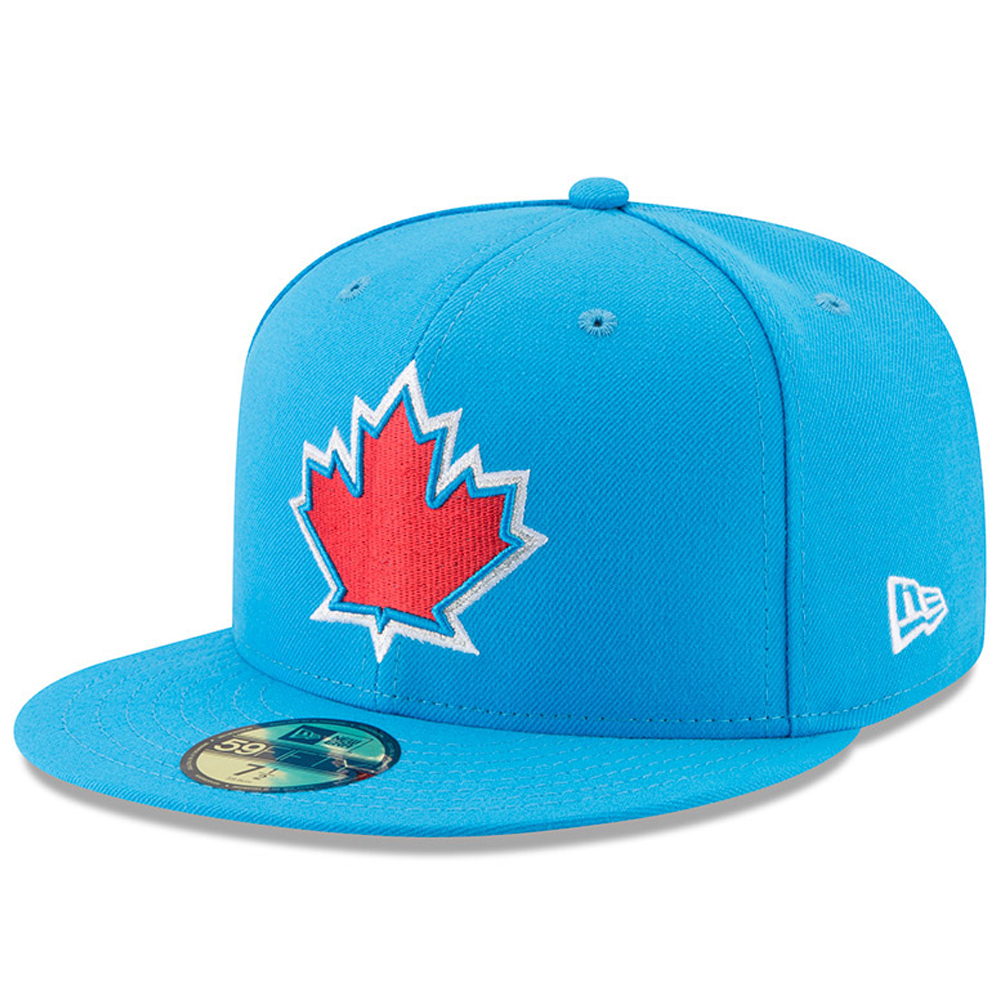 Toronto Blue Jays New Era Youth 2017 Players Weekend 59FIFTY Fitted Hat - Blue