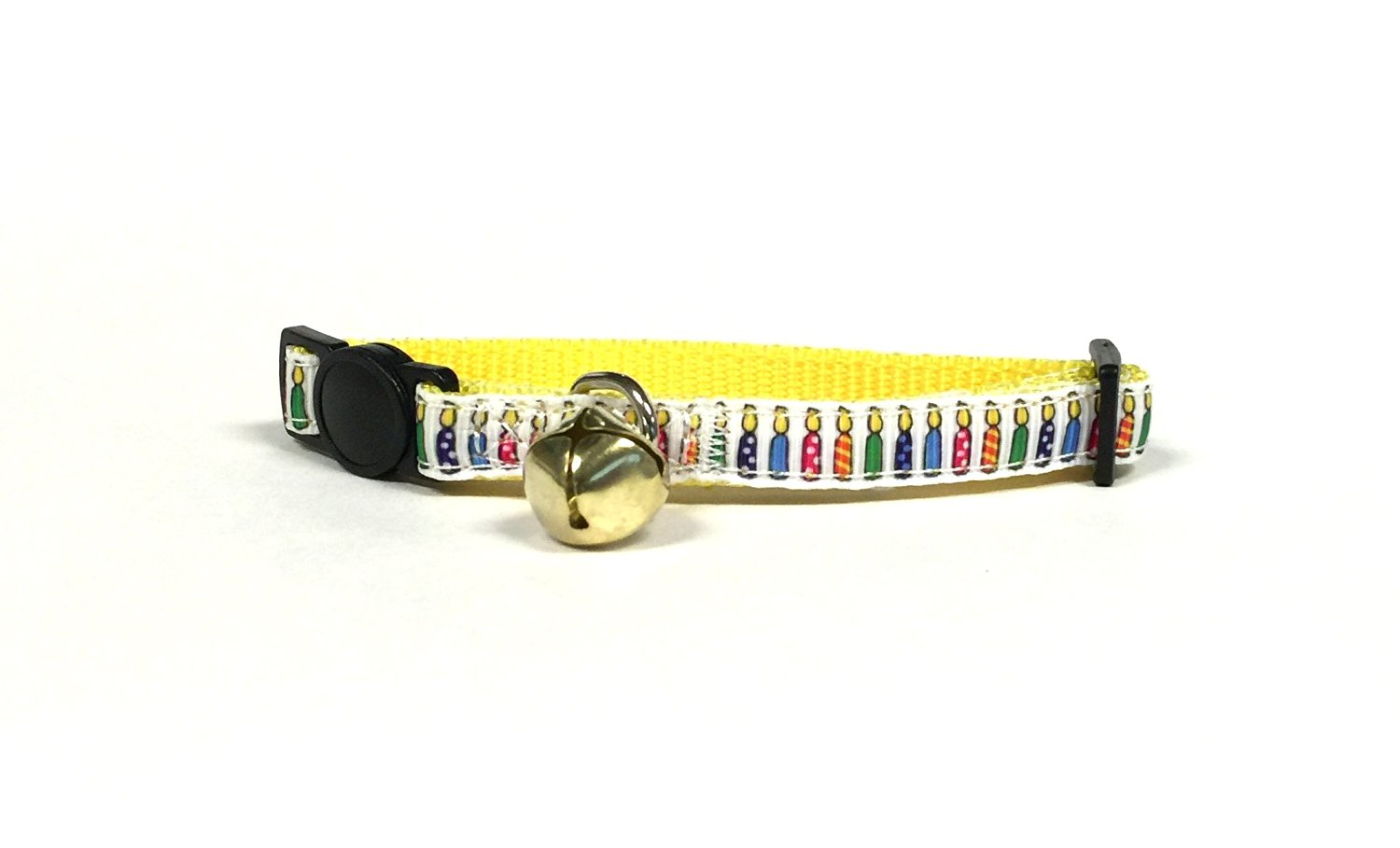 Birthday Candle Cat Collar Set by Midlee by