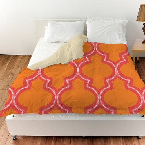 Manual Woodworkers & Weavers Ogee Dots Duvet Cover