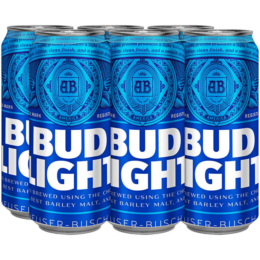 Great Budweiser Bud Light 6 Pack 16 Oz Cans Great Pictures