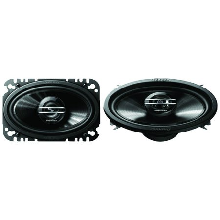 "Pioneer TS-G4620S - G-Series 4"" X 6"" 200-Watt 2-Way Coaxial Speakers"
