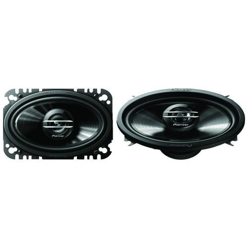 """Pioneer Ts-G4620S G-Series 4"""" X 6"""" 200-Watt 2-Way Coaxial Speakers"""