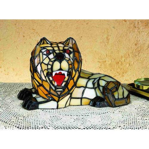 Meyda Tiffany 18465 Specialty Lion Accent Table Lamp by Meyda Tiffany