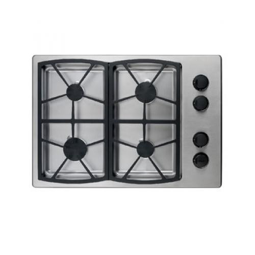 "Dacor  SGM304S/LP Classic Series 30"" Cooktop in Liquid Propane with 4 Sealed Burners  Instant Re-Ignition  Two"
