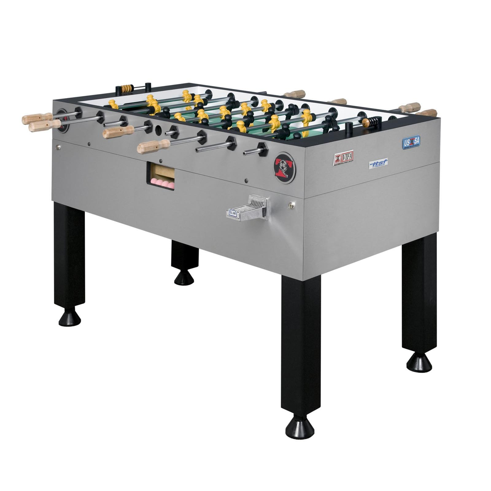 Tornado Tour Edition Coin Op 56 in. Foosball Table