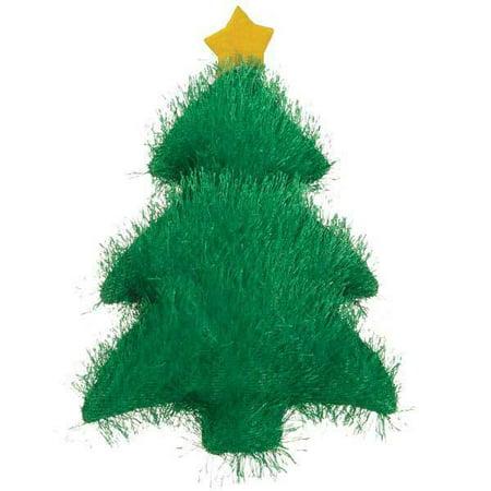 Holiday Fuzzles Dog Toy Christmas Theme Fuzzy Choose Stocking Tree or Candy Cane (Tree)