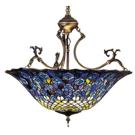 26 Inch Wide Pendant Light - Meyda Tiffany 38159 3 Light 24