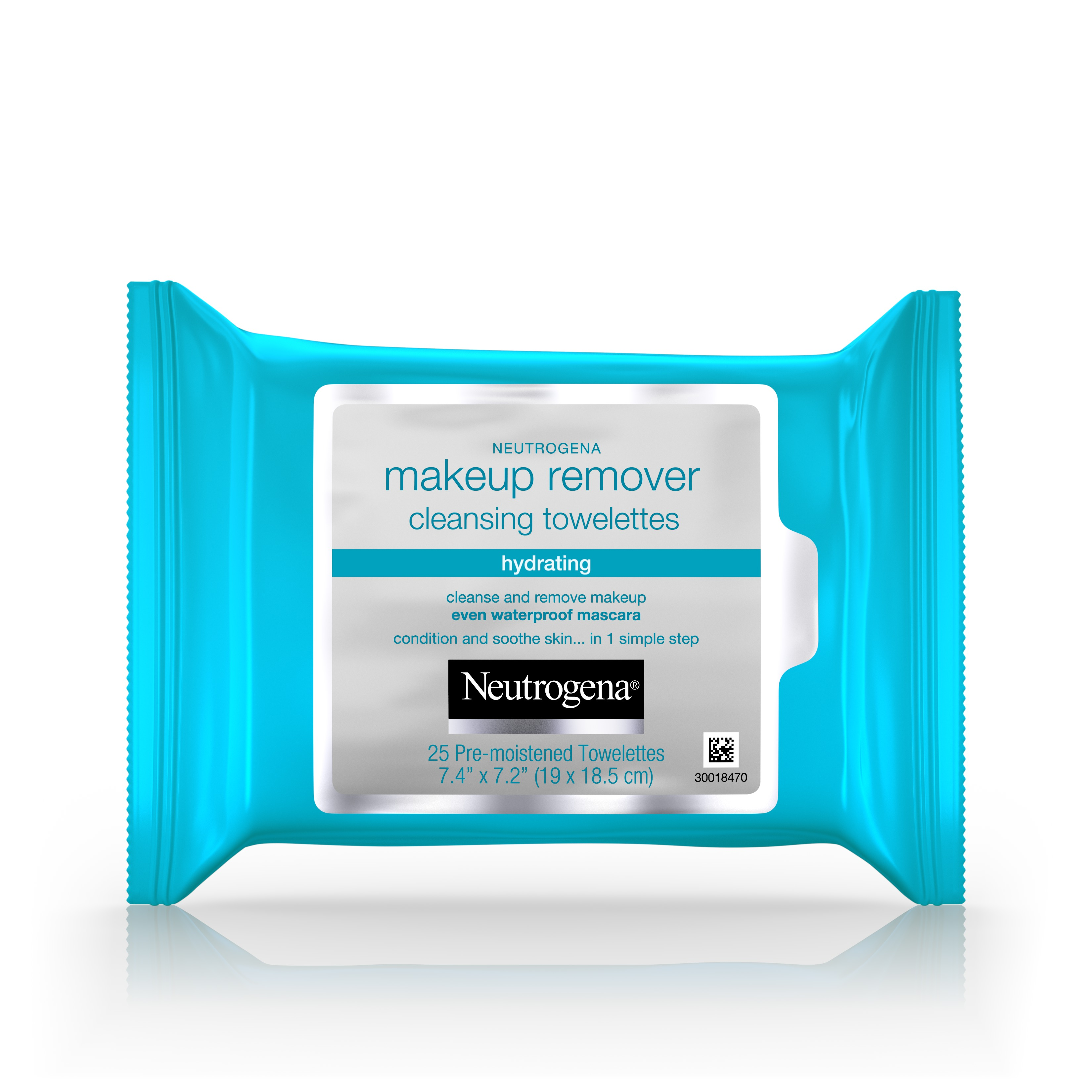 Neutrogena Hydrating Makeup Remover Cleansing Facial Towelettes, 25 Count