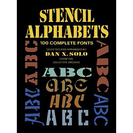 Good Fonts To Use For Halloween (Stencil Alphabets : 100 Complete)