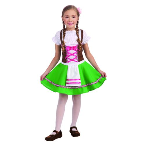 Girls Gretel Oktoberfest Costume Medium