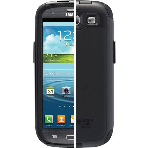 OtterBox Commuter Case for Samsung Galaxy S3 III Black * Cover OEM Original