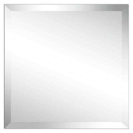 Empire Art Direct Frameless Beveled Prism Wall Mirror, 24
