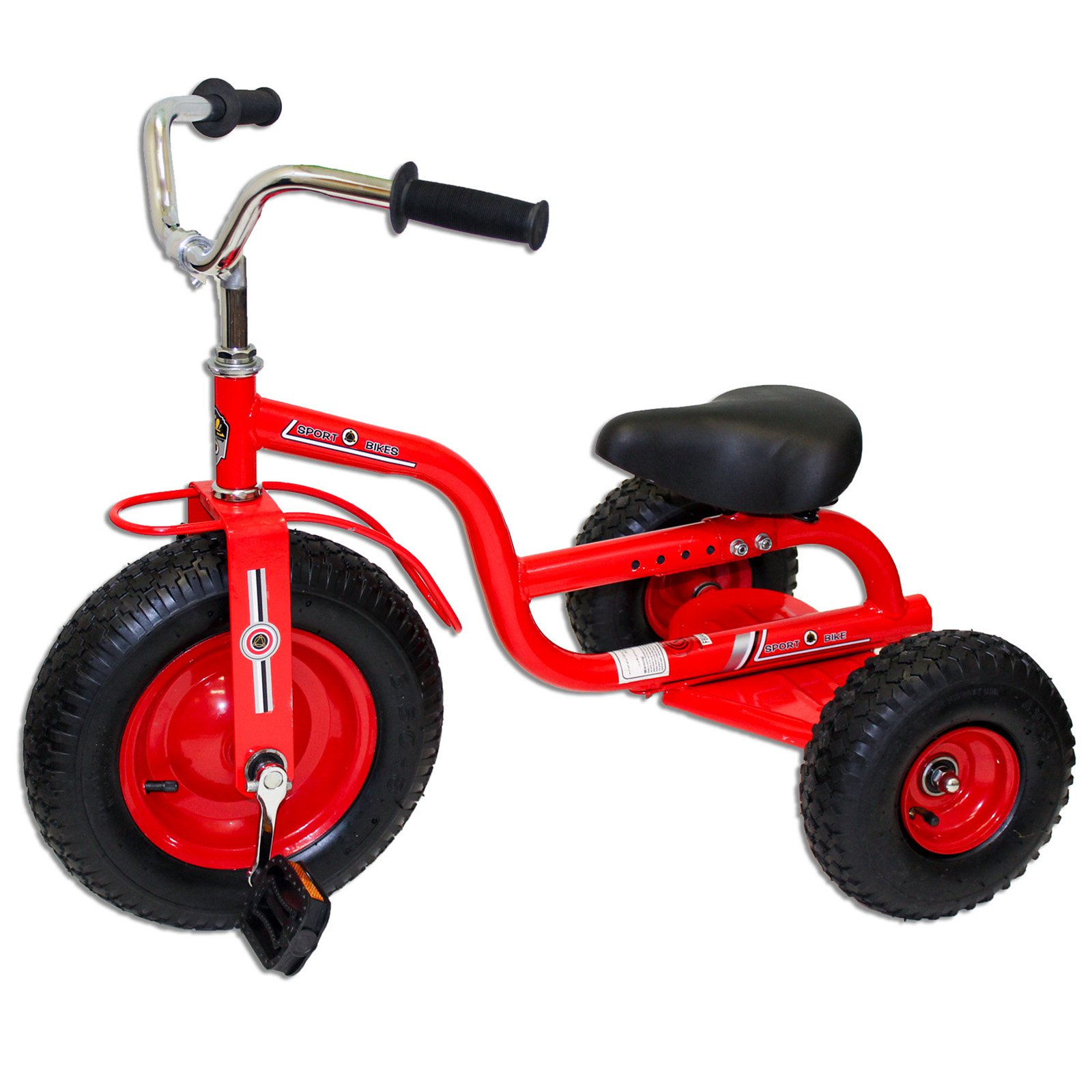 Deluxe Tricycle, Red