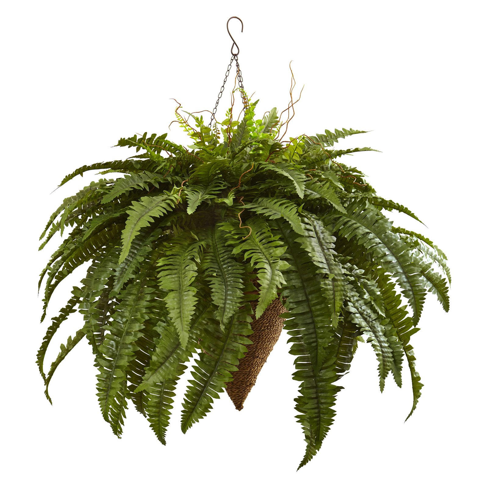 Nearly Natural Giant Boston Fern