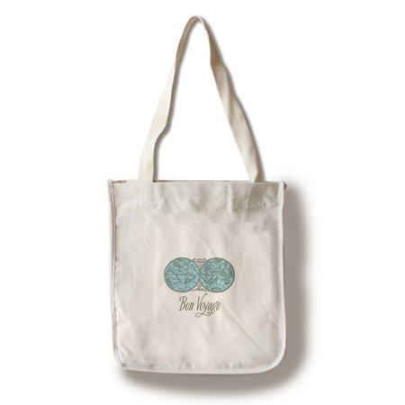 Bon Voyage - Breathless Paper Co. Artwork (100% Cotton Tote Bag - Reusable)