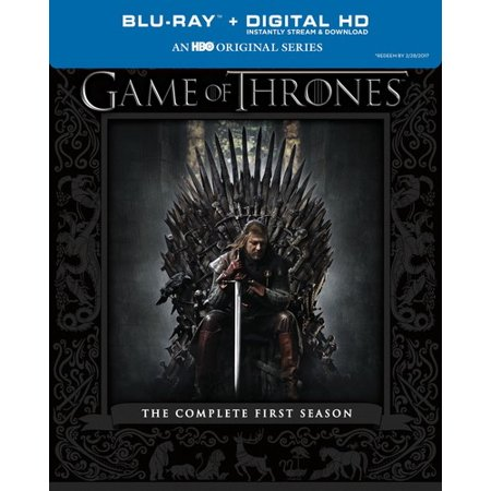 Game Of Thrones  The Complete First Season  Blu Ray   Digital Copy