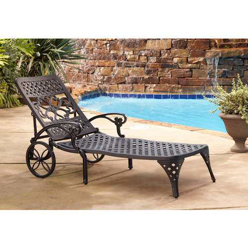 Home Styles Biscayne Outdoor Chaise Lounge Chair by Home Styles