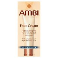 Ambi Skincare Fade Cream Vitamin E & AHA for Normal Skin, 2 Oz.