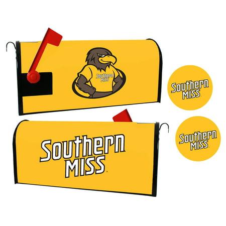 Southern Mississippi Golden Eagles Magnetic Mailbox Cover & Sticker (Mississippi Golden Eagles Cover)