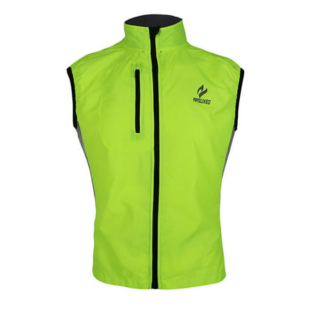 Brooks Running Vest (ARSUXEO Men Women Ultrathin Spring Autumn Running Cycling Bicycle Vest Windproof Sleeveless Coat Jacket Clothing Casual Waterproof)