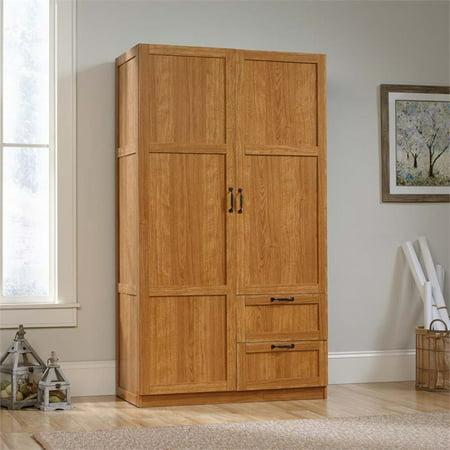 Sauder Select Wardrobe/Storage Cabinet, Highland Oak Finish