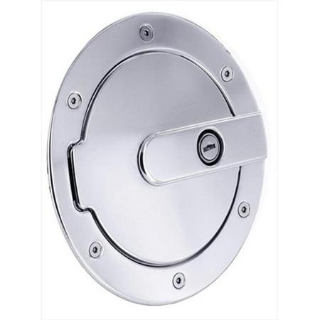 6070PL Aluminum Billet Fuel Door With Lock - image 1 of 1