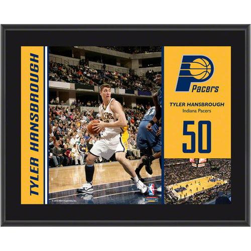 NBA - Tyler Hansbrough Plaque   Details: Indiana Pacers, Sublimated, 10x13, NBA Plaque