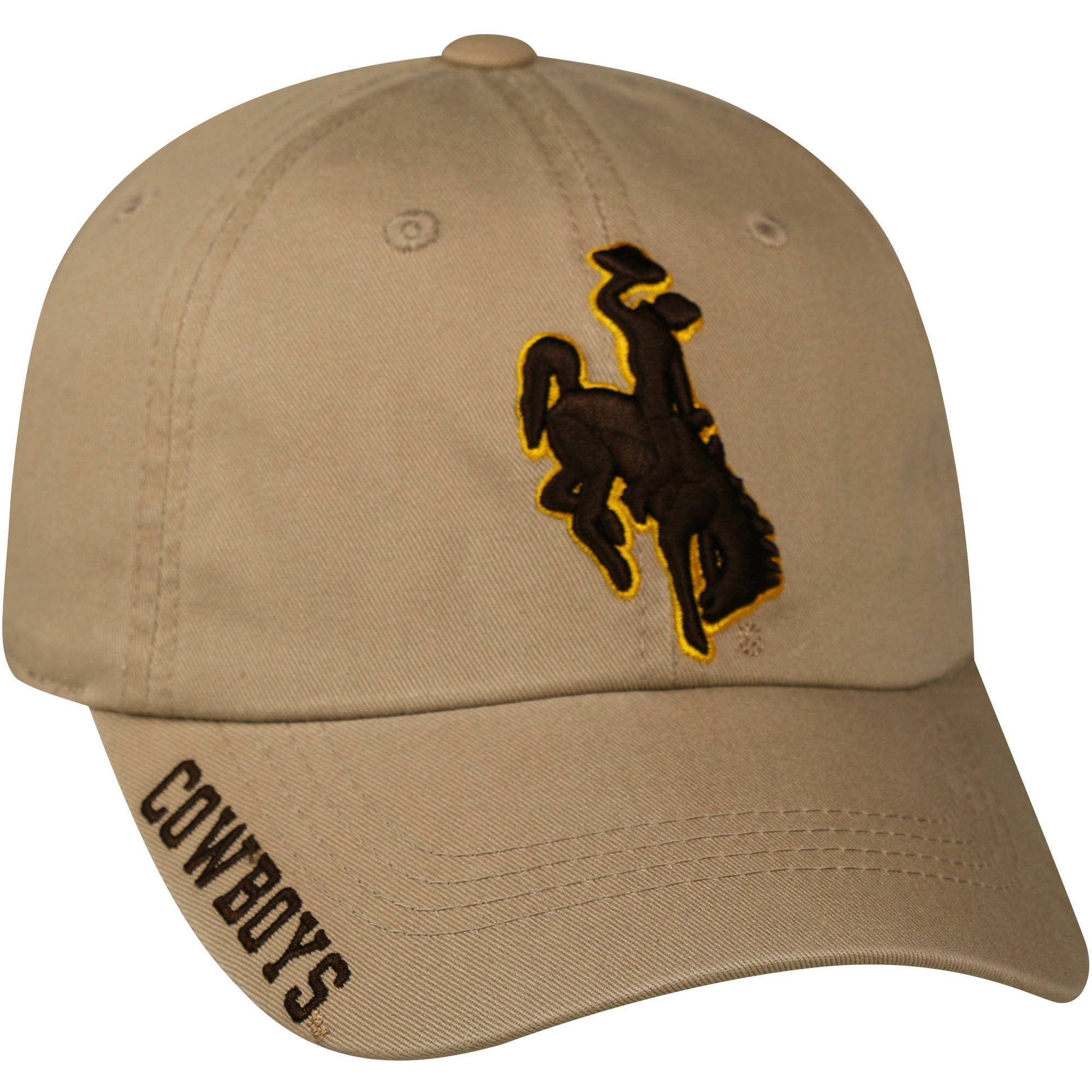 NCAA Men's Wyoming Cowboys Khaki Cap
