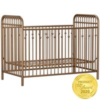 Little Seeds Monarch Hill Ivy Metal Crib, Multiple Colors
