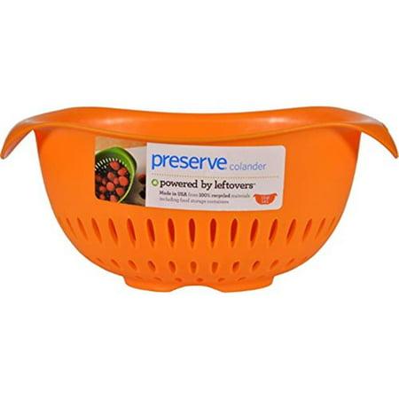Preserve 1211812 Small Colander, Orange - 1.5 qt