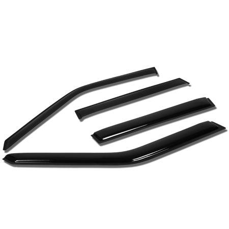 - For 93-00 Volvo 850 4pcs Window Vent Visor Deflector Rain Guard (Dark Smoke) 94 95 96 97 98 99